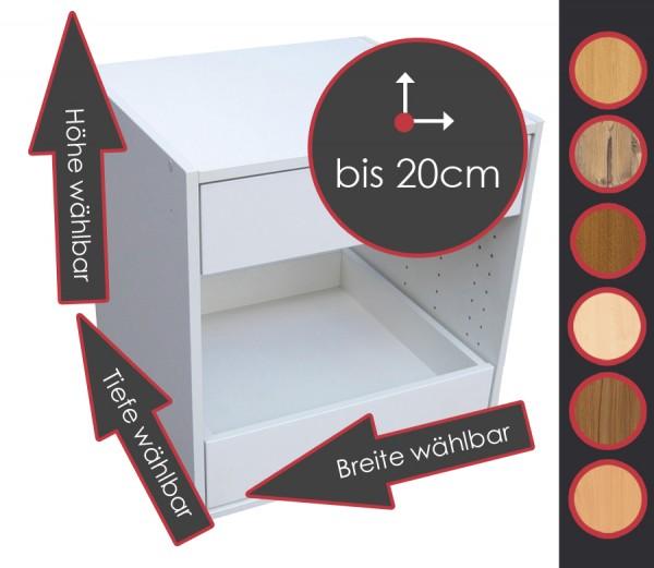 Typ B, Dekor, Br/Hö/Ti wählbar